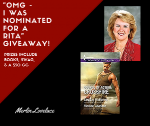 RITA GIVEAWAY - Merline Lovelace